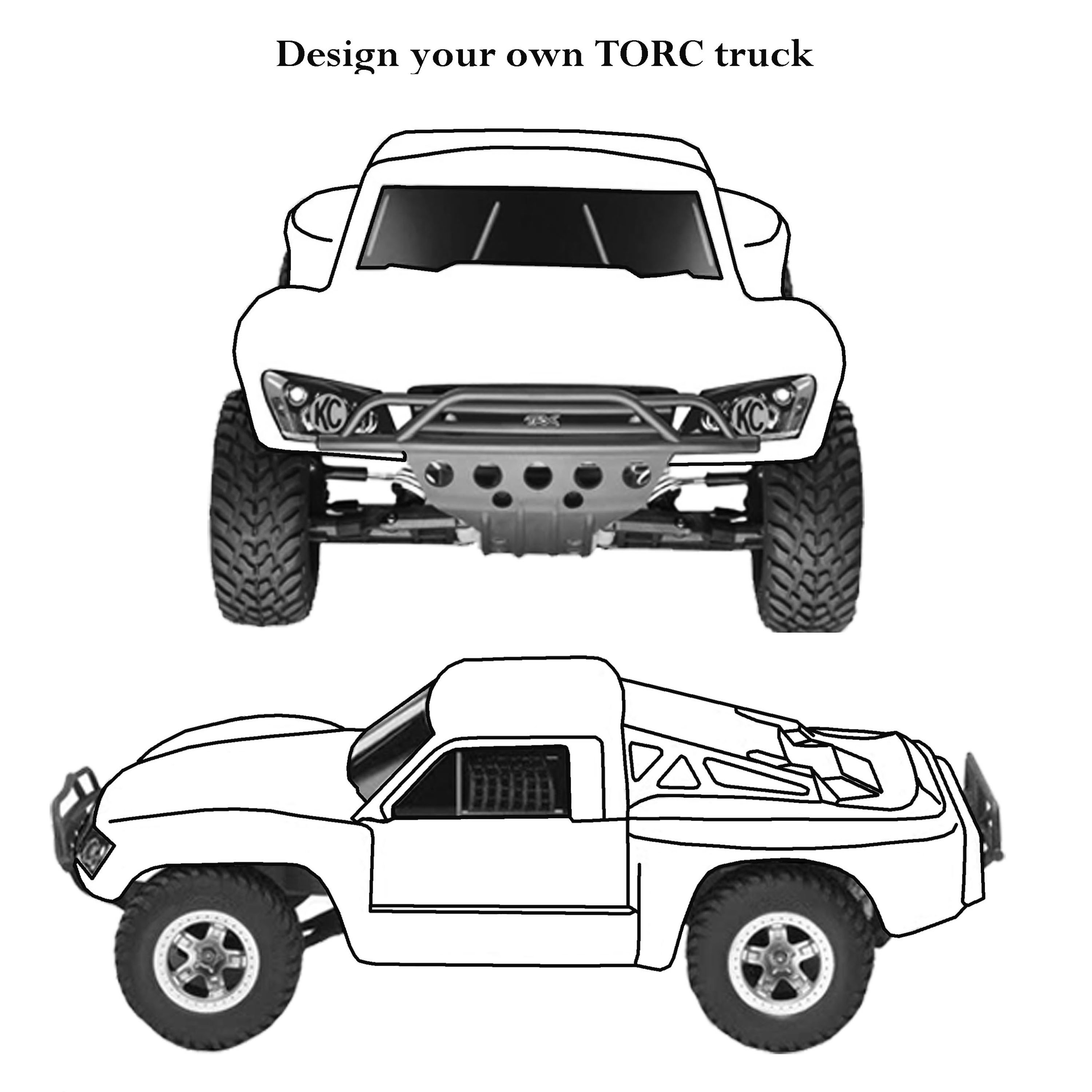 Off Road Truck Free Coloring