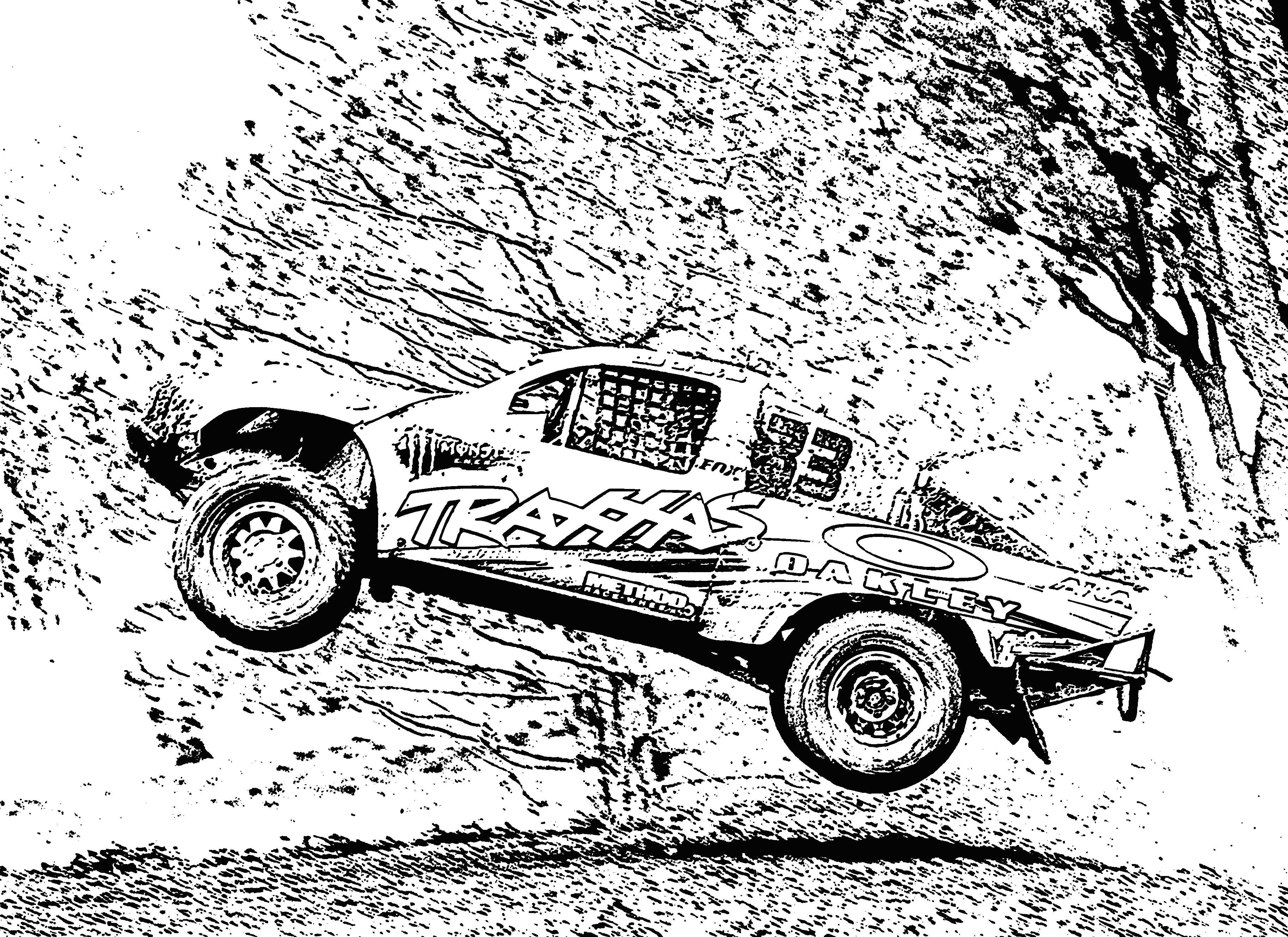 Free printable coloring pages race cars - Cars Coloring Page